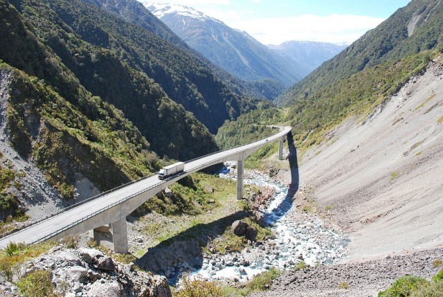 Otira Viaduct, Arthur Pass, New Zealand