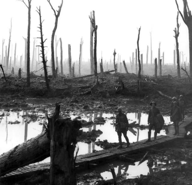 war, World War I, soldiers, battlefield